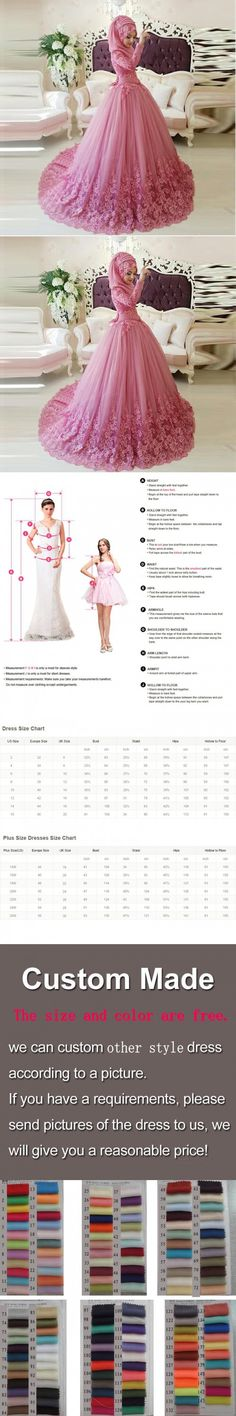 Arabic Muslim Wedding Dress 2016 Turkish Gelinlik Lace Applique Ball Gown Islamic Bridal Dresses Hijab Long Sleeve Wedding Gowns $199