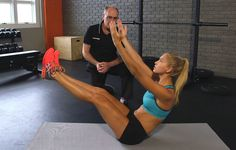 Weekly Workout - Ab Sizzler