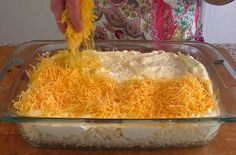 Learn how to make a delicious copycat cracker barrel hashbrown casserole, this treat will make your family drool and your friends beg for the recipe. Cracker Barrel Hashbrown Casserole, Hash Brown Casserole, Casserole Dishes, Casserole Recipes, Veggie Side Dishes, Potato Dishes, Vegetable Dishes, Potato Recipes, Cracker Barrel Copycat Recipes