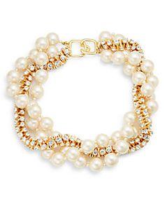 Sparkle Beaded Wrap Necklace