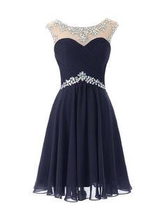 Dresstells® Short Prom Dresses Sexy Homecoming Dress for Juniors Birthday Dress Navy Size 2 | Amazon.com