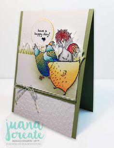Juana Ambida: Hey, Chick - Have A Happy Day!