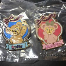 Hkdl Hong Kong Disney Disneyland Trading Pin Duffy Shelliemay Tin 110388 110390