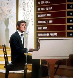 """Auftritt beim """"Grand Prix d'Eurovision de la Chanson"""" 1966 in Luxemburg"""