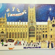 Love this so much. Up on the office wall - our traditional Advent Calendar designed by @AlisonGardinerdesigns. Our local landmark Canterbury Cathedral looking gorgeous. No chocolate here! Good old fashioned pictures   #advent #christmas #cathedral #church #canterbury #canterburycathedral #kent #visitkent #alisongardiner #artist #tradition #traditional #history #art #artist #design #instapic #picture #adventcalendar #illustration #xmas  We love this post by @marketing_am