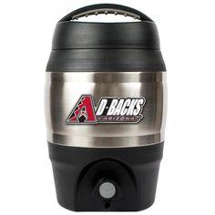 Arizona Diamondbacks 1 Gallon Tailgate Keg  #baseball #mlb #bar #tailgate