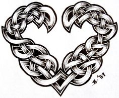 a33c96b8b celtic heart by Why Are Celtic Tattoo Designs Still Popular After All This  Time