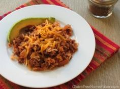Taco Rice at Gluten-Free Wednesdays | The Gluten-Free Homemaker