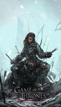 Game of Thrones: Ygritte Fan Art - Created by C Juk