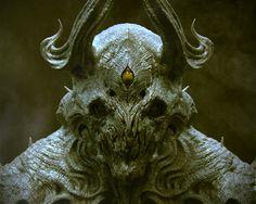 Dark Samurai – character concept by funky boy Creature 3d, Creature Picture, Creature Design, Character Concept, Character Art, Concept Art, Samhain, Female Monster, Dark Evil
