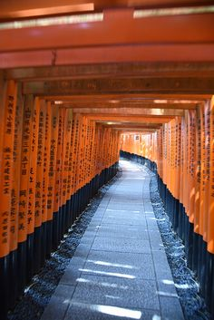 Fushimi Inari-taisha - Kyoto Japan | by PierBia Fushimi Inari Taisha, Kyoto Japan, To Go, Sidewalk, Country, Places, Lugares, Rural Area, Country Music