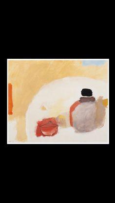"""* Eugène Brands - """" The japanese teapot """", 1982 - Gouache on paper - 35,8 x 42,8 cm"""