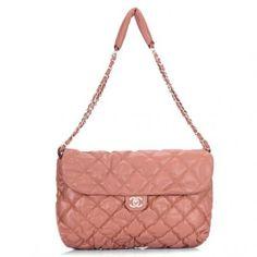 Chanel Cambon Lambskin Leather Flap Bag 35614 Blood Orange