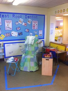 Dentist role play   EYFS Role- Play area   Pinterest   Role play ...