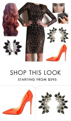 """""""Bez tytułu #15593"""" by sophies18 ❤ liked on Polyvore featuring Christian Louboutin and Stephen Webster"""