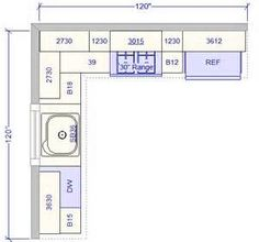 Medium image of view 10 u2032x 10 u2032 kitchen layout