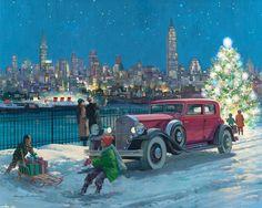 Descargar fondos de escritorio de coches Pierce-Arrow, 1931, Nueva York, Harry Anderson 1600x1200