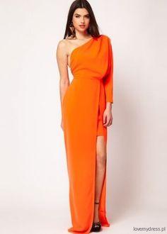 Aqua, asymetryczna sukienka