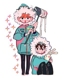 Art by 손털 Cartoon Kunst, Anime Kunst, Cartoon Art, Art And Illustration, Manga Art, Anime Art, Cute Art Styles, Pretty Art, Character Design Inspiration