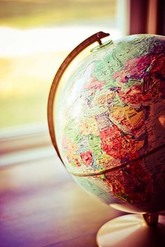 Globe - to travel around the world is my greatest dream Travel Outfit Spring, Couple Travel, Map Globe, Globe Art, Photos Voyages, We Are The World, I Want To Travel, Travel Bugs, Adventure Is Out There