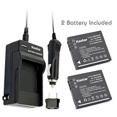 Kastar Battery (2-Pack) and Charger Kit for Panasonic Lumix CGA-S008, CGA-S008A, CGA-S008A/1B, CGA-S008E, CGA-S008E/1B, DMW-BCE10, DMW-BCE10PP, DMW-BCE10E, VW-VBJ10, VW-VBJ10E, DE-A40 and Panasonic Lumix DMC-FS3, DMC-FS5, DMC-FS20, DMC-FX30, DMC-FX33, DMC-FX35, DMC-FX36, DMC-FX37, DMC-FX55, DMC-FX500, DMC-FX520, HM-TA1,SDR-S7, SDR-S9, SDR-S10, SDR-S10P1, SDR-S15, SDR-S20, SDR-S25,SDR-S26, SDR-SW20, SDR-SW21, SDR-SW28 Cameras