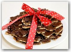 Soda Cracker Toffee