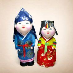 Hanji Doll (Korean Traditional Paper Doll) from Vision Decolier Co., Ltd., South Korea Manufacturer