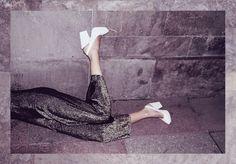 Vintage Clothes Rag And Bone Man. Photograph/Styling: Alexander Sebastian Trah. Model: Sophia Exss. Makeup: Wie Liu. #ragandbonemanvintage #sustainablefashion #vintage #70s #1970