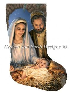 Stocking Holy Family