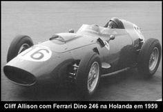 1959 Cliff Allison, Ferrari Dino D 246