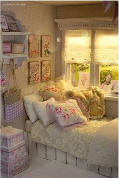 Would be a lovely place to settle down with a good book and a cup of tea.