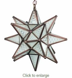 Small aged tin frosted glass moravian star light 10 inch small maya frosted glass star pendant lamp aloadofball Choice Image