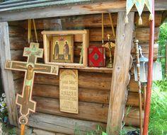 The chapel at the grave of venerable Constantine and Arcadia Shamarskih Old Believers, Russian Orthodox, Ladder Decor, Catholic, Roman Catholic
