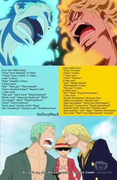 One Piece , zoro and sanji One Piece Quotes, One Piece Meme, One Piece Funny, Zoro One Piece, One Piece Comic, One Piece Fanart, One Piece Pictures, One Piece Images, One Piece Theories