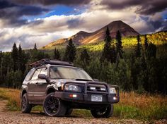 Lifted Subaru Forester