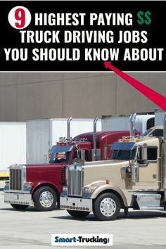 10 Best Truck Driving Jobs images in 2018   Truck driving