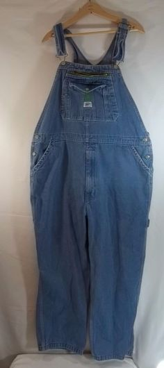 Liberty Bib Overalls Denim 42 x 29 Carpenter Blue | Clothing, Shoes & Accessories, Men's Clothing, Jeans | eBay!