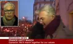 Calls for BBC's Tim Willcox to resign over Paris interview
