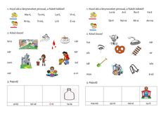 1.o.Apáczais gyakorló s-ig 2. Kids And Parenting, Language, Teaching, Education, School, Speech And Language, Learning, Language Arts, Educational Illustrations