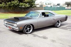 1970 Plymouth GTX street-rod.