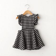 Dorothy - Checkered Pinafore