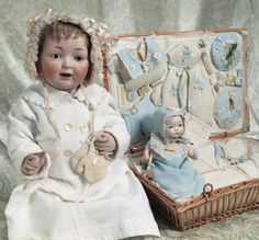 Bon-Bons For The Bonnet Ladies of Tiffin: 78 Character Baby in French Presentation Layette