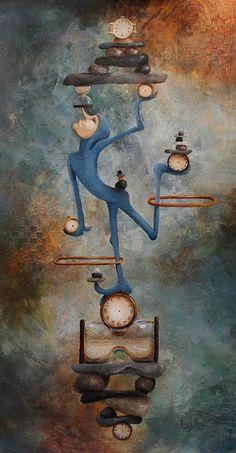 Balance Painting by Lorraine Ulen