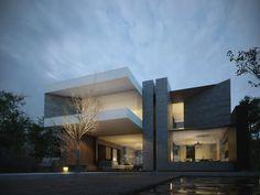 Hjortskov House on Behance