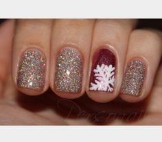 easy holiday nails