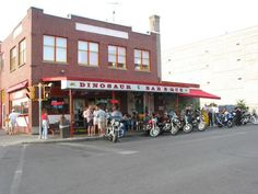 Dinosaur BBQ in Syracuse, NY. Ohhhhh we're going next weekend!!! Hahahh