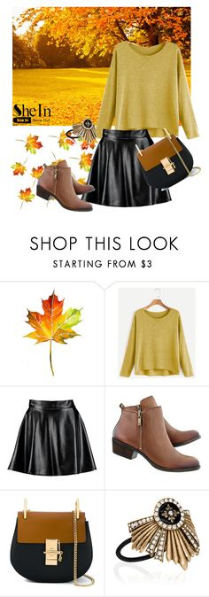 """""""Untitled #309"""" by aazraa ❤ liked on Polyvore featuring Boohoo, Chloé and Chloe + Isabel"""