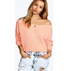 boohoo Crop Slash Waffle Knit Jumper - apricot azz13928 Go back to nature with your knits this season and add animal motifs to your must-haves. When youre not wrapping up in woodland warmers, nod to chunky Nordic knits and polo neck jumpers in peppered mar http://www.comparestoreprices.co.uk/womens-clothes/boohoo-crop-slash-waffle-knit-jumper--apricot-azz13928.asp