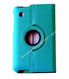 Samsung Galaxy Tab2 7.0 P3100 Case Skyblue Rotating Cover
