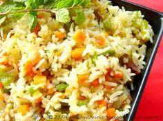 Mixed Veggie Pulao